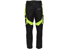 Pantaloni Moto Hero in Tessuto Tecnico 4 Stagioni HR-3435 Nero / Giallo