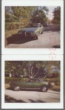 Vintage Kodak Instant Photos 1967 1968 Pontiac Firebird Sports Car 712623