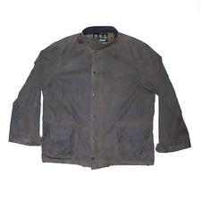 Vintage BARBOUR Wax Ursula Green Regular Outdoor Jacket Mens 2XL