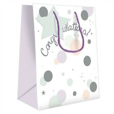 Gift Bag (Medium) - Congratulations Text & Spots