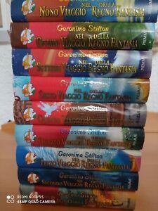 """Libri Geronimo Stilton """"Viaggio Nel Regno Della Fantasia"""" Dal Primo Al Nono..."""