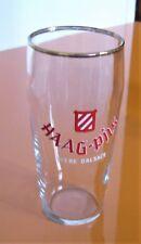 HAAG PILS Verre à bière Haag-Pils, bière d'Alsace.
