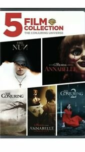 The Conjuring Universe: 5 Film Collection (3 Disc) DVD NEW