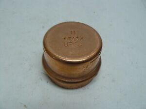 Viega 77737 ProPress Copper Cap 2 inch lot of 2 new