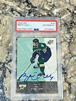 2000 Upper Deck SPx Brett Hull #19 Auto PSA/DNA Slabbed Authentic Dallas Stars