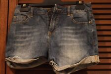 "Shorts Girls Ladies ""G Denim"" Glassons denim sz 8  blue hardly worn"