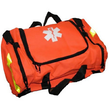 Ever Ready First Aid Large EMT First Responder Trauma Bag, Orange New