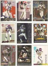 Randy Moss Minnesota Vikings 9 card 1999 insert lot-all different