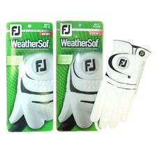 Men's FootJoy Weather Soft 2-Pack Golf Gloves Select Size US FREE SHIPPING