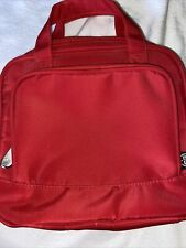 GANZ Brand Beyond a Bag Red Color Toiletry Notebook Hanging Organizer