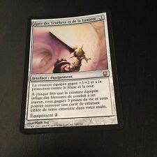 MTG MAGIC DARKSTEEL SWORD OF LIGHT AND SHADOWS EPEE DES TENEBRES LUMIERE NM FOIL