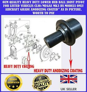 MQ Lower Ball Joint Pair for RENAULT CLIO from 1990 to 2005