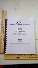 Satoh S373 BEAVER III iseki bolens service repair manual Mitsubishi diesel