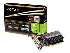 Schede video e grafiche NVIDIA GeForce GT 730 per prodotti informatici dissipatore , Capacità 2GB