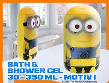 Minions 3D Duschgel Motiv 1 350 ml Neu & OVP Bath & Shower Gel