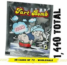1440 Fart Bombs - Stink Bags (20 display cases of 72)  Prank Gag - wholesale lot