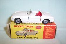 VINTAGE - DINKY TOYS - MATCHBOX - CORGI - M.G.B SPORTS CAR - (LOVELY CONDITION)