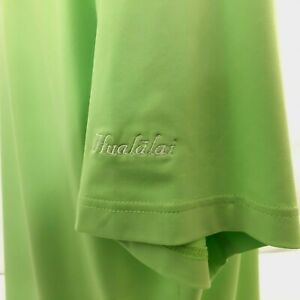 Hualalai Men's Golf Polo Shirt XL Green Peter Millar Summer Comfort Embroidered