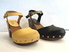 Women's Block No Pattern Ankle Straps Sandals & Beach Shoes