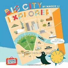Where Can I Go? Big City Explorer, Maggie Li, New Book