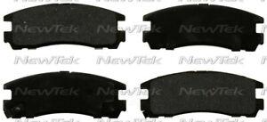 Disc Brake Pad Set-Galaxy Ceramic Disc Pads Rear NewTek SCD383