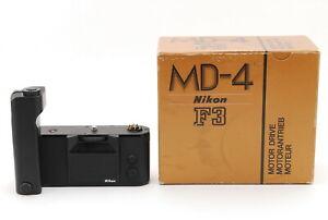 """Mint IN BOX"" Nikon MD-4 Motor Drive in Box By FedEx #A564"