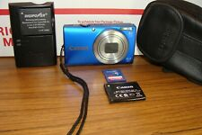 Canon PowerShot A4000 IS 16.0MP/8X ZOOM Digital Camera - Blue