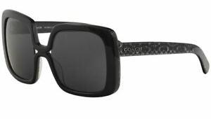 Authentic Coach Sunglasses HC8245 552087 Black Frames Gray Lens 56mm ST*