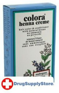 BL Colora Henna Creme Hair Color Mahogany 2 oz - Two PACK