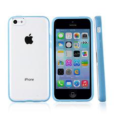 For Apple iPhone 5C GGMM Slim Hard Gel Hybrid TPU Candy Phone Case Cover
