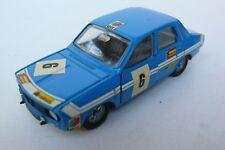 DINKY TOYS FRANCE   RENAULT 12  GORDINI   REF 1424G    BON ÉTAT  1971