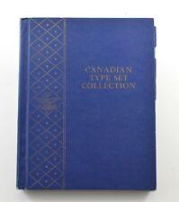 Used Whitman Canaidan Type Set Collection Empty Coin Album Book - 14 Oz. *100