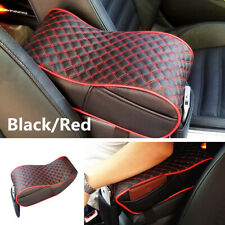 Universal Car Armrest Box Mats PU Leather Sponge Console Pad Liner Cushion Cover