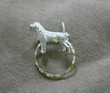 Pointer Dog Silver Spec Pin Detti Originals