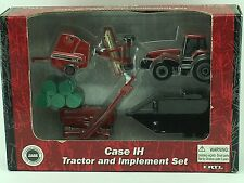 1/64 ERTL CASE IH MX220 TRACTOR AND IMPLEMENT SET