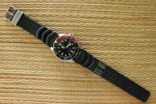 OLD STOCK DEMO CITIZEN 200M STAINLESS STEEL DOUBLE BLACK & COCA DIVER'S WATCH