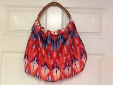 Silk Elements new handbag sunrise tote bright multicolored H9