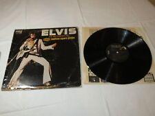 Elvis As Recorded At Madison Square Garden RCA LP Album Record vinyl Taped edges