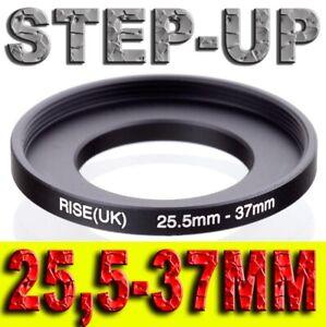 STEP UP 25,5-37MM ADATTATORE RING ADAPTER 25,5MM 37MM 25,5 37 MM 25,5MM-37MM