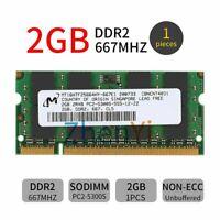 2GB Apple MacBook Pro (15.4/17-inch Late 2006) DDR2 Laptop Notebook RAM Memory