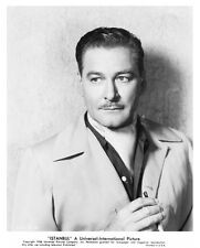 ERROL FLYNN character portrait still from ISTANBUL -- (j036)