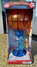 Dubble Bubble Gumball Dispenser Machine Toy With Gum Bag Coin Savings 11 Inches