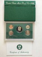 USA 1998 Proof Set San Francisco Original Box PP pollierte Platte 1c-50c
