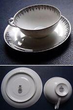 Salmon & Cie - Porcelaines de Limoges de Luxe - Tasse + Soucoupe / Cup + Saucer