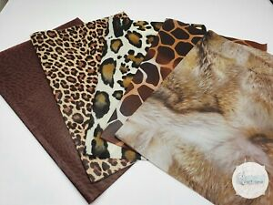 Decopatch Paper, Decoupage Paper Pack Animal Collection x5 Full Size Sheets
