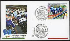 2013 - ITALIA - BUSTA PRIMO GIORNO FDC FILAGRANO MONDIALI CICLISMO SU STRADA