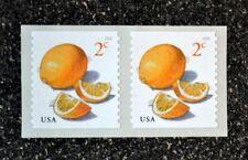 2018USA #5256  2c Meyer Lemons - Coil Pair  Mint  NH    lemon