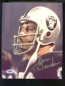 Ben Davidson Oakland Raiders 8x10 Photo Signed Autograph Auto PSA/DNA Football