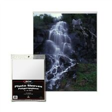 100 - 8x10 Photo Protectors, Poly Sleeves Acid Free BCW