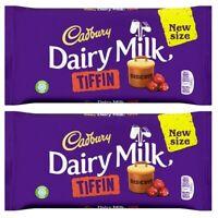 Two Cadbury Dairy Milk Tiffin Chocolate Sharing Bars 200g each / total 400g
